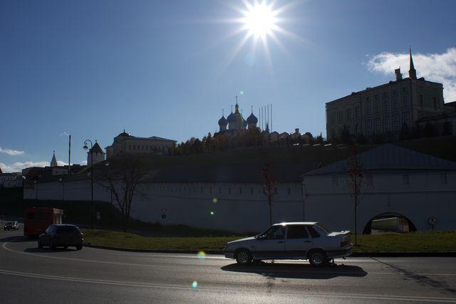 Кремль сзади