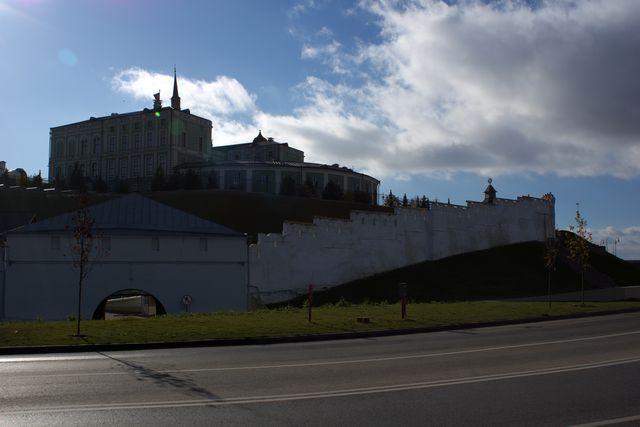 Кремль сзади-сбоку