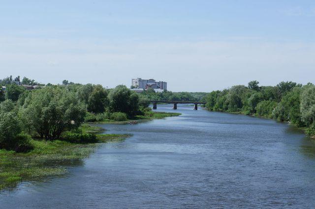 Вид старого моста с нового