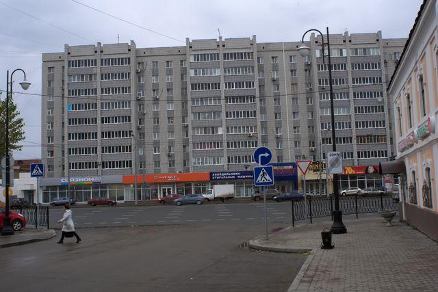 Пешеходный переход, многоэтажка