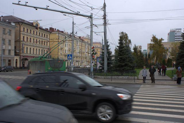 Фото на пешеходном переходе